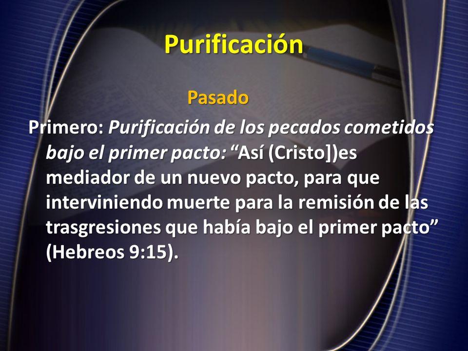 Purificación Pasado.