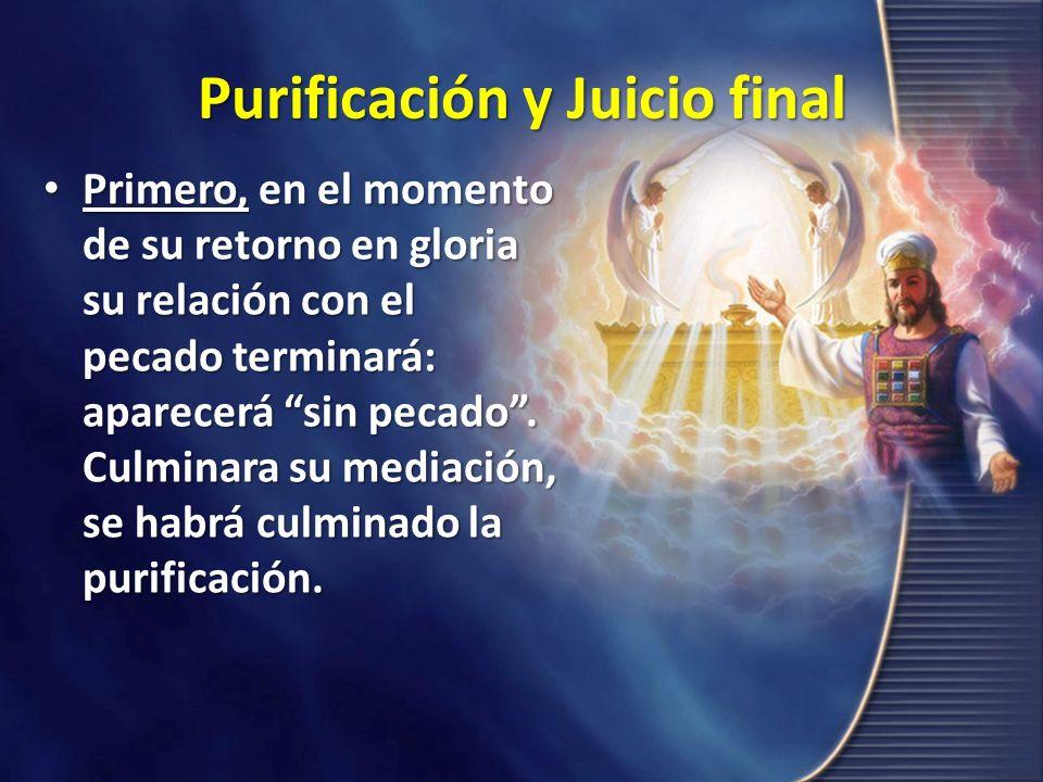 Purificación y Juicio final