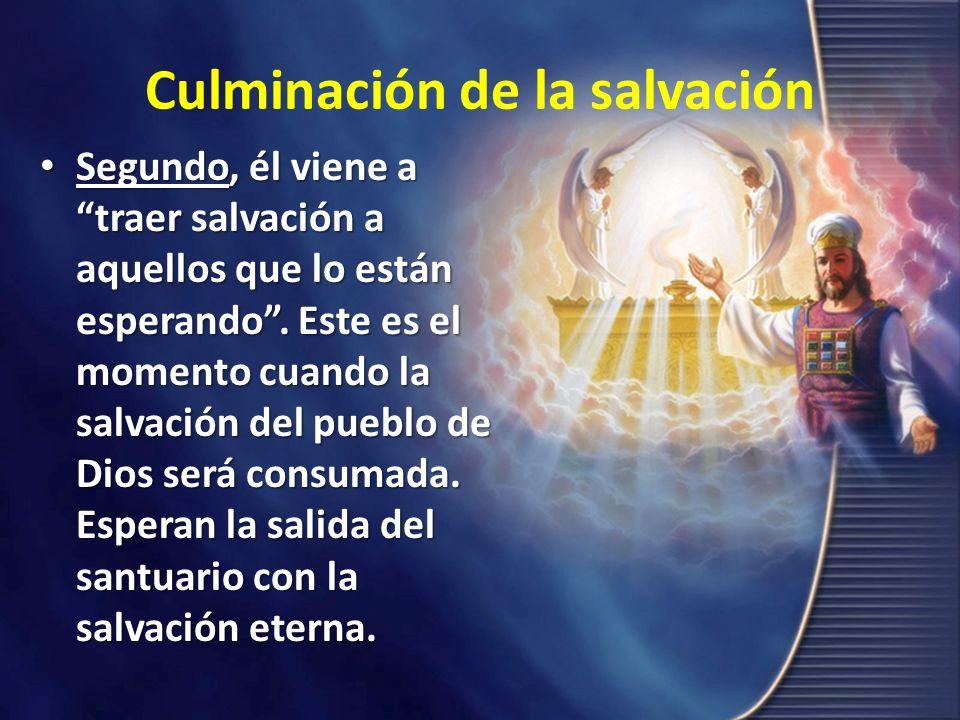 Culminación de la salvación