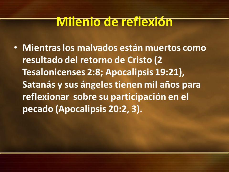 Milenio de reflexión