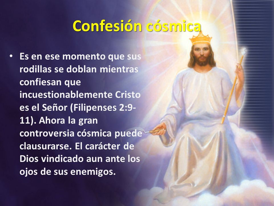 Confesión cósmica