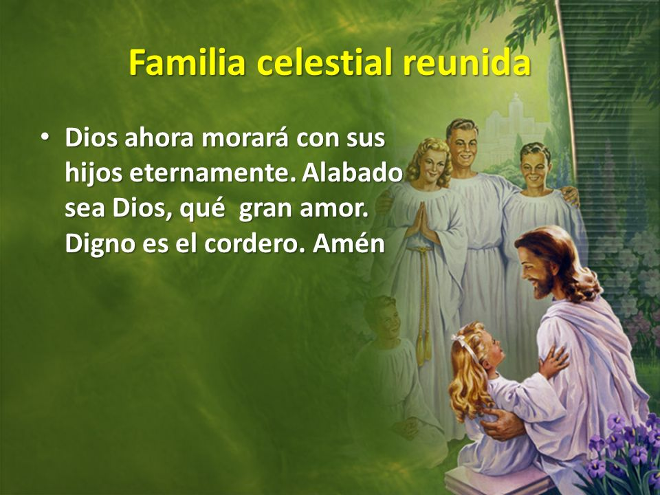 Familia celestial reunida