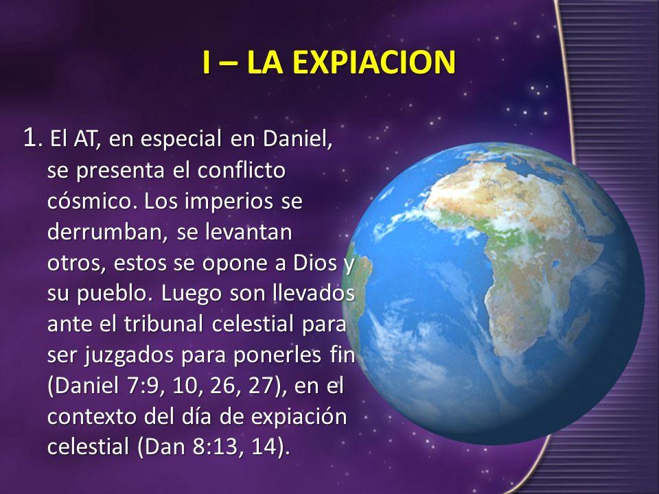I – LA EXPIACION
