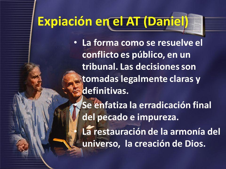 Expiación en el AT (Daniel)