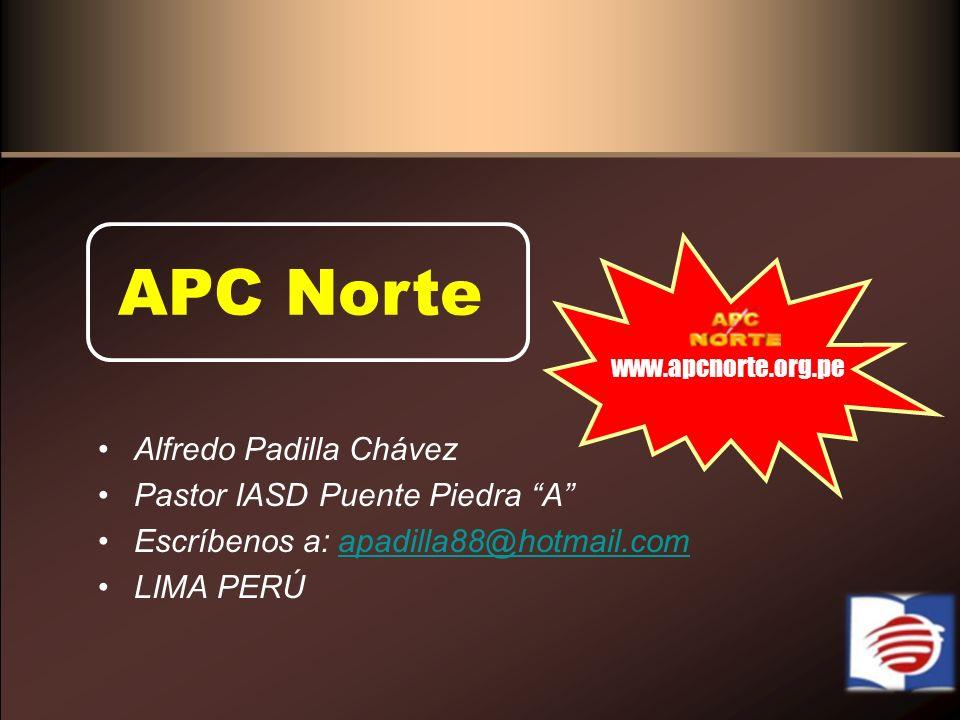 APC Norte Alfredo Padilla Chávez Pastor IASD Puente Piedra A