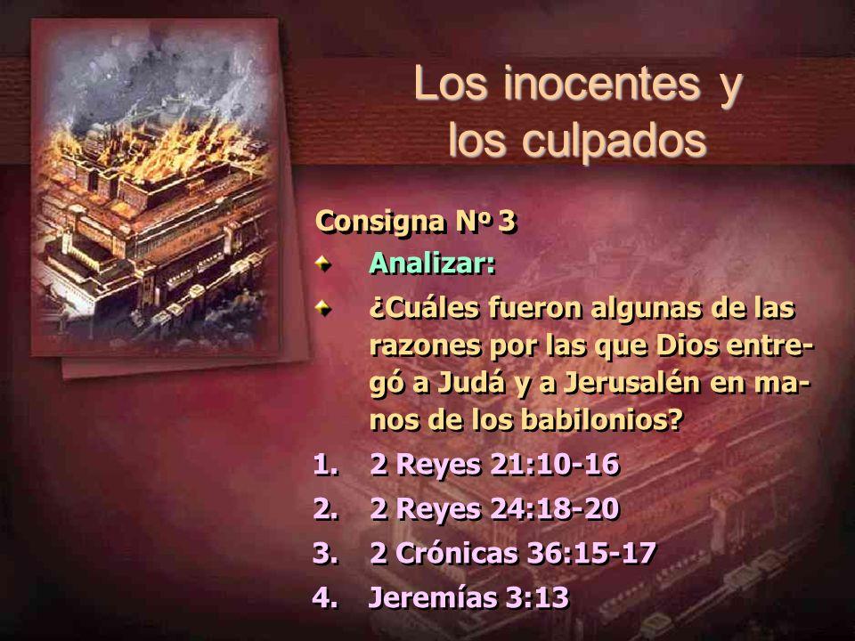 Los inocentes y los culpados