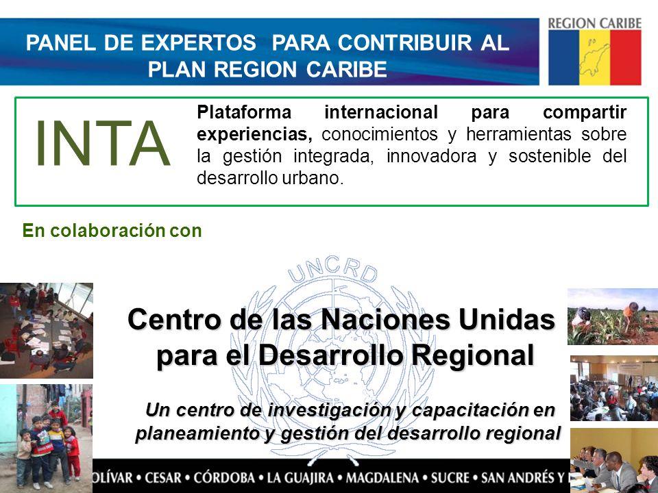 PANEL DE EXPERTOS PARA CONTRIBUIR AL PLAN REGION CARIBE