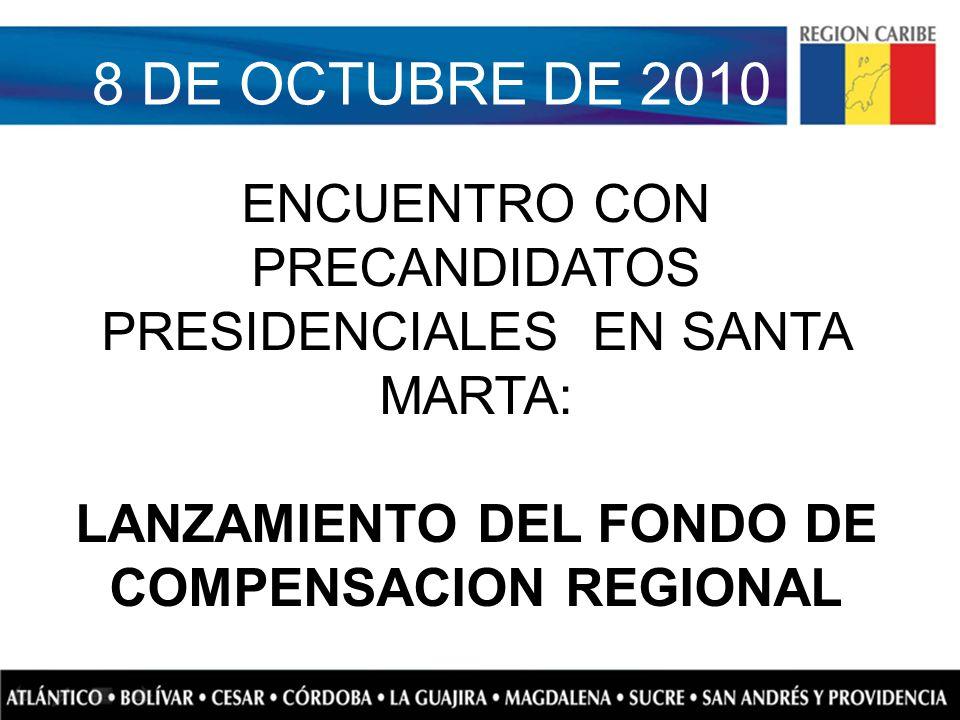 LANZAMIENTO DEL FONDO DE COMPENSACION REGIONAL