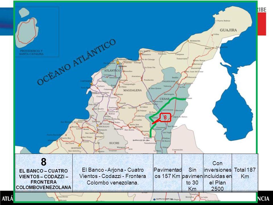 EL BANCO – CUATRO VIENTOS – CODAZZI – FRONTERA COLOMBOVENEZOLANA