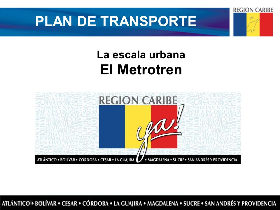 PLAN DE TRANSPORTE El Metrotren