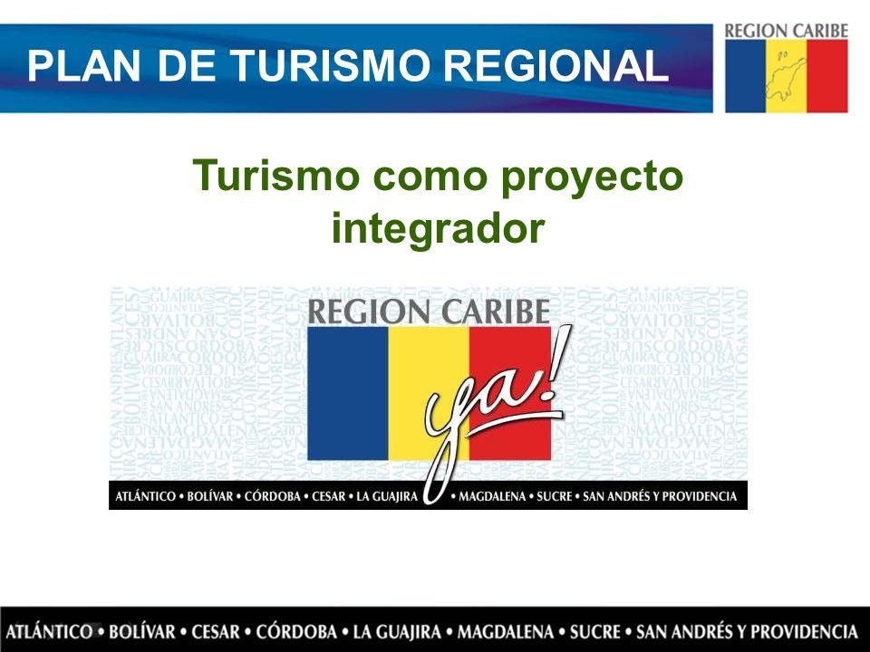 PLAN DE TURISMO REGIONAL Turismo como proyecto integrador