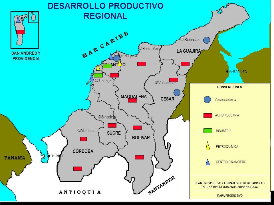 DESARROLLO PRODUCTIVO REGIONAL SAN ANDRES Y PROVIDENCIA