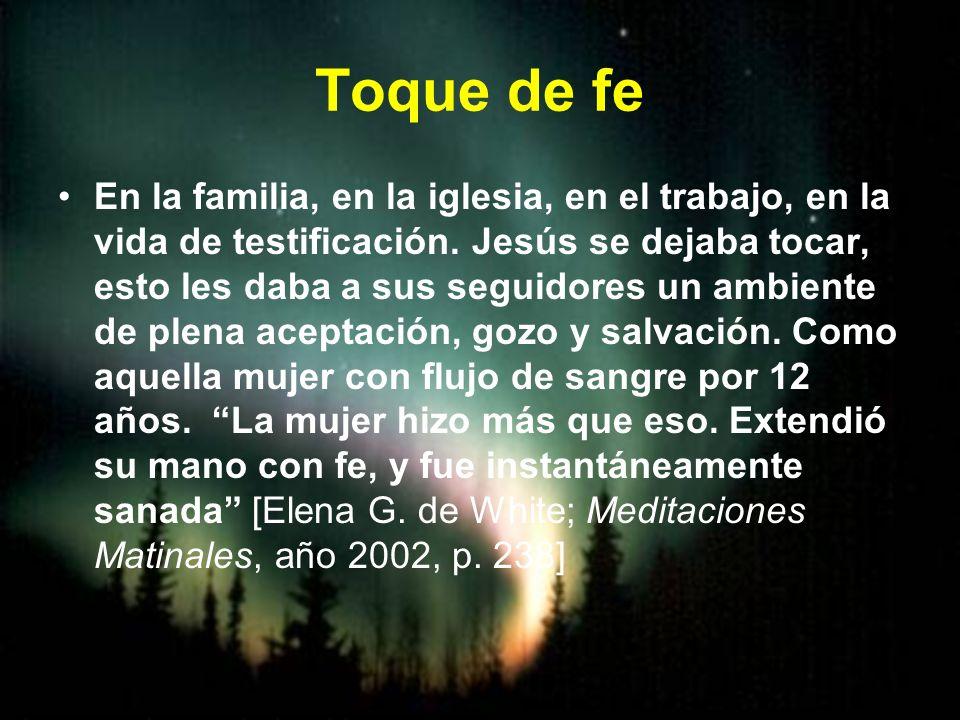 Toque de fe