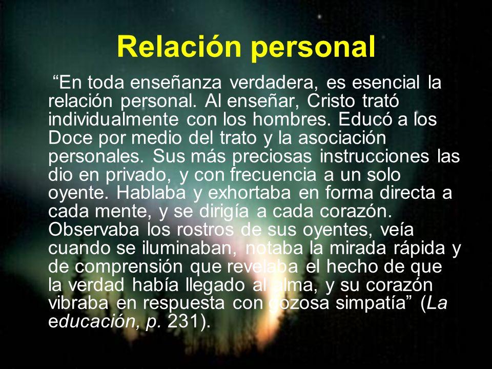 Relación personal