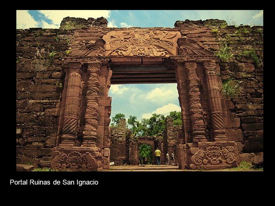 Portal Ruinas de San Ignacio