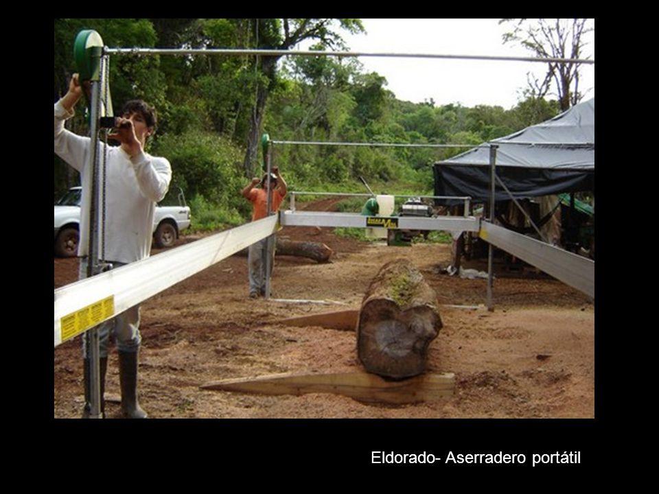 Eldorado- Aserradero portátil