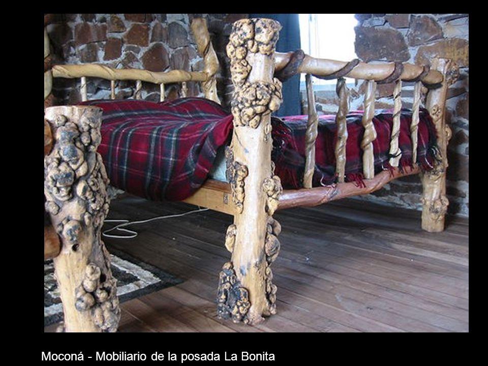 Moconá - Mobiliario de la posada La Bonita