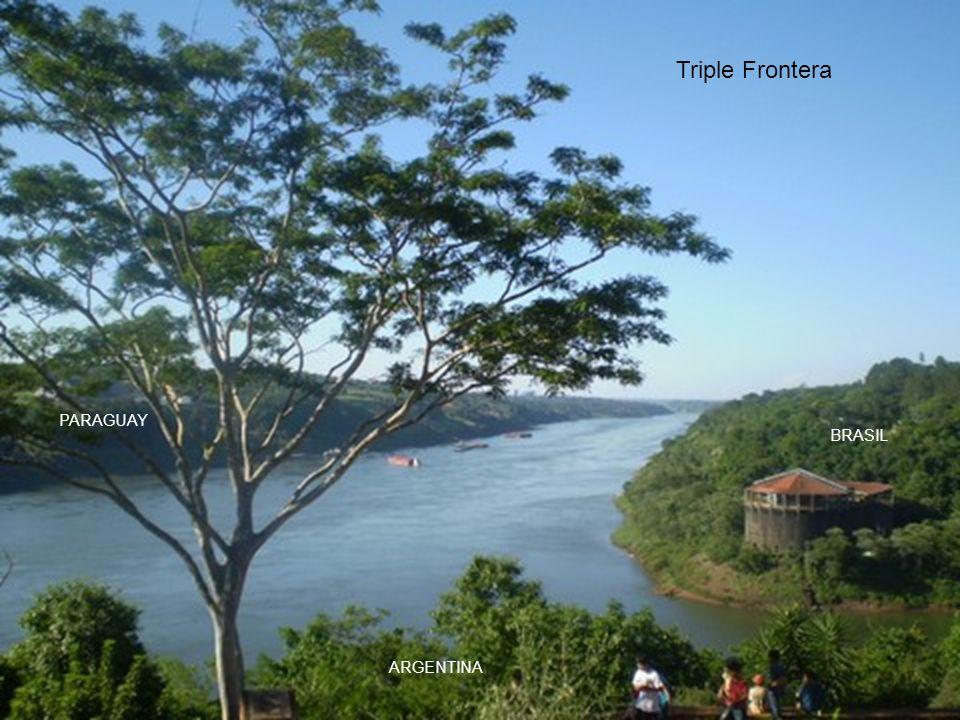 Triple Frontera PARAGUAY BRASIL ARGENTINA