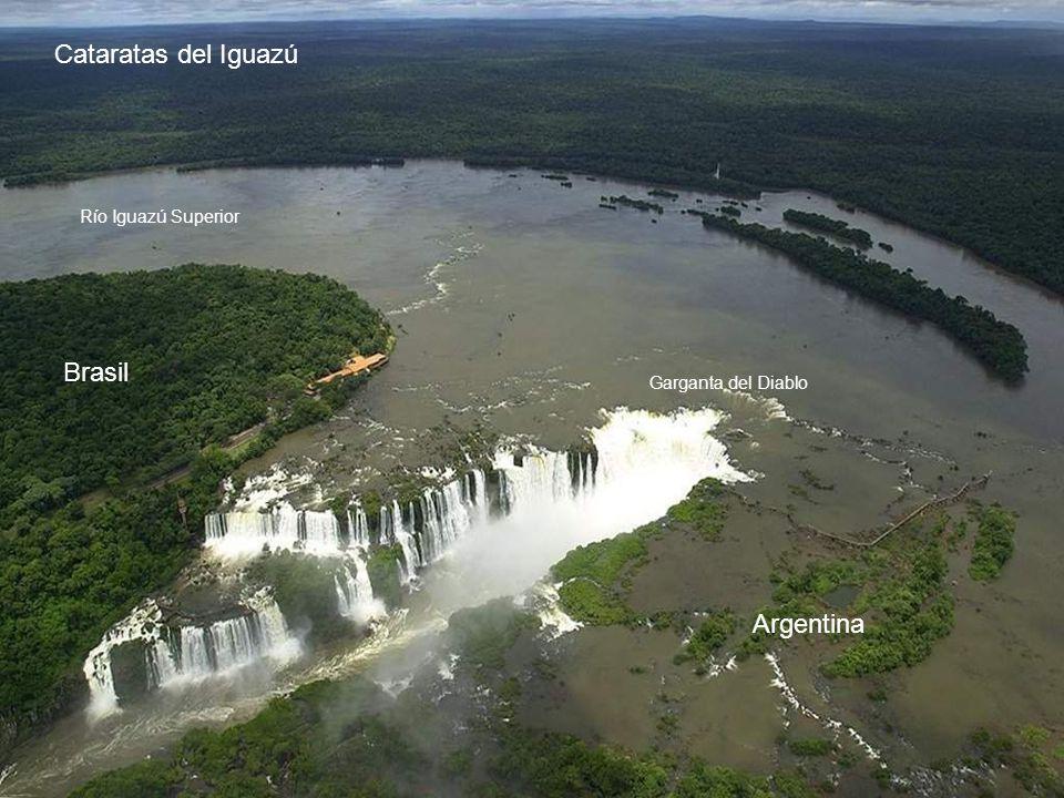 Cataratas del Iguazú Brasil Argentina Río Iguazú Superior