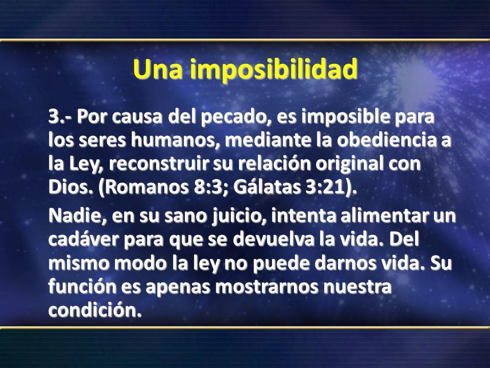 Una imposibilidad