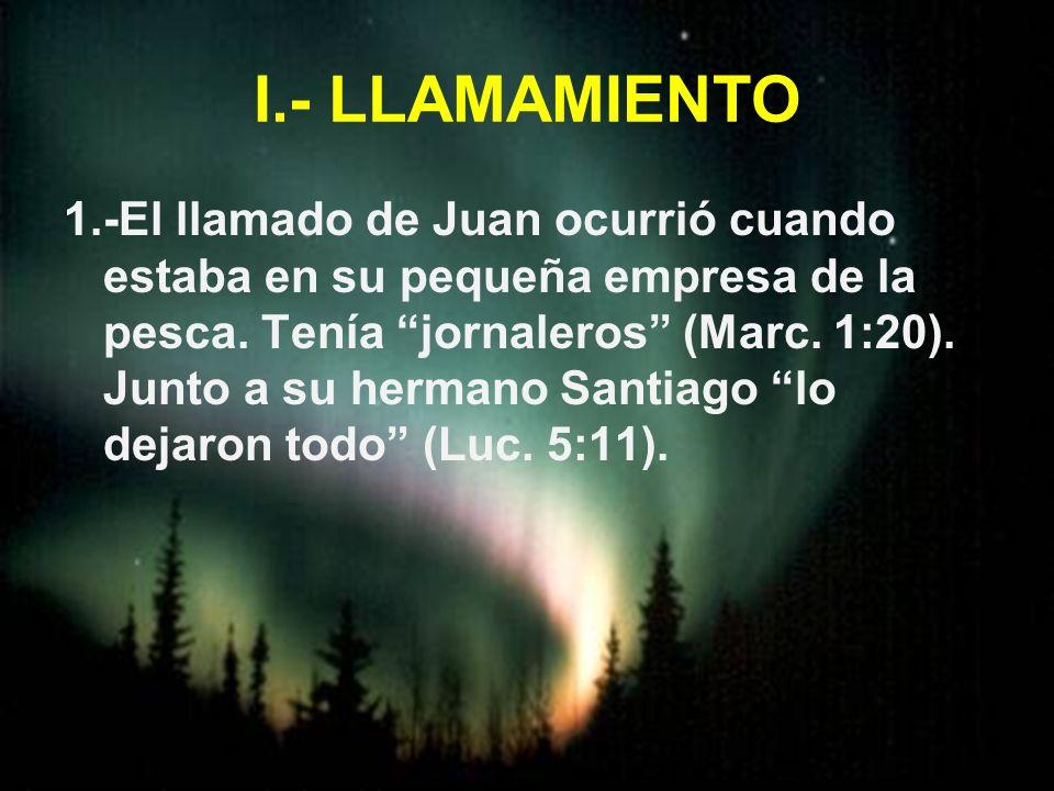 I.- LLAMAMIENTO