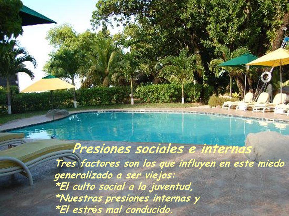Presiones sociales e internas