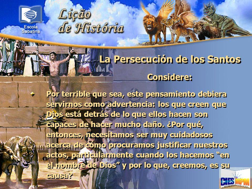 La Persecución de los Santos