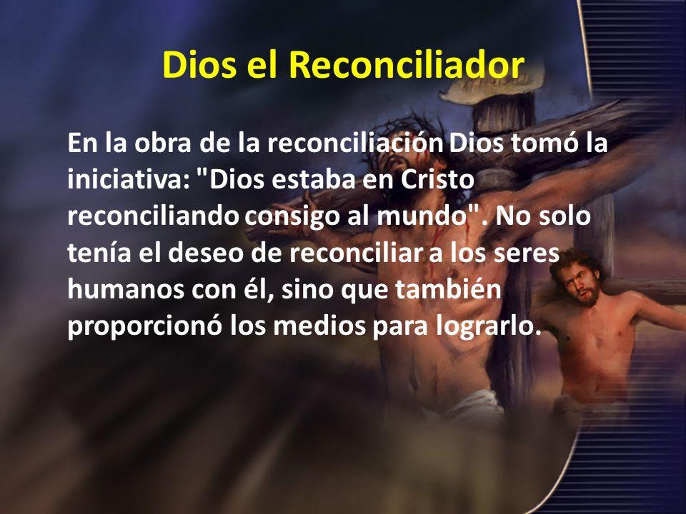 Dios el Reconciliador