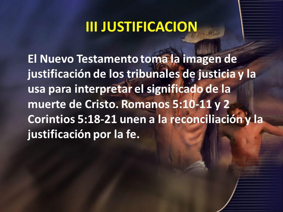 III JUSTIFICACION
