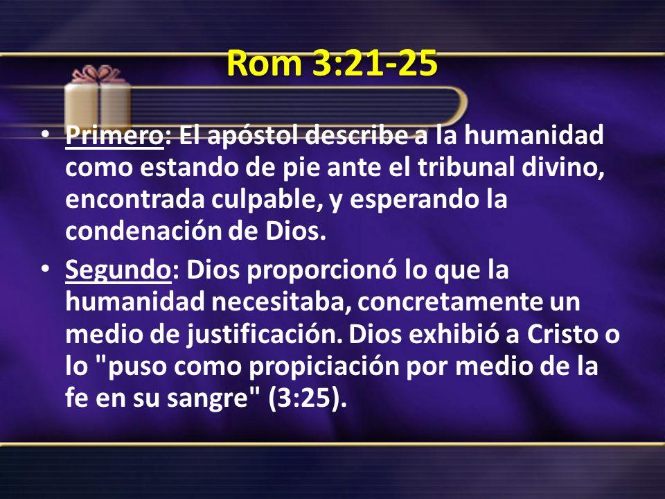 Rom 3:21-25