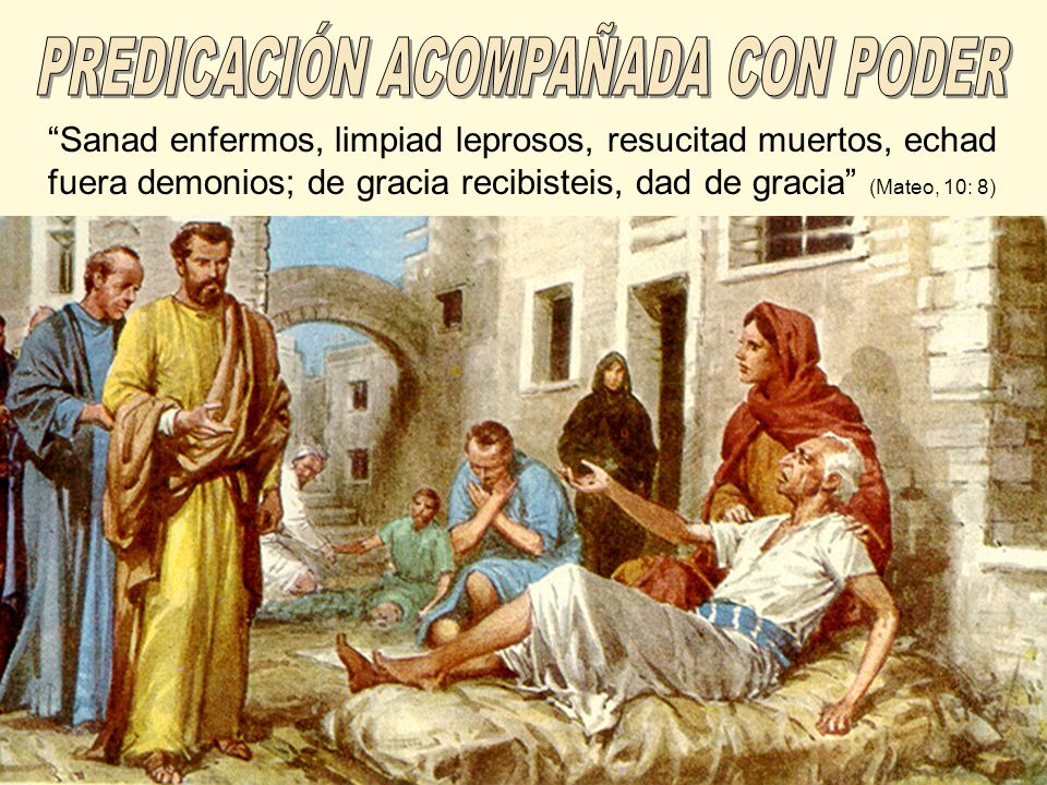 PREDICACIÓN ACOMPAÑADA CON PODER