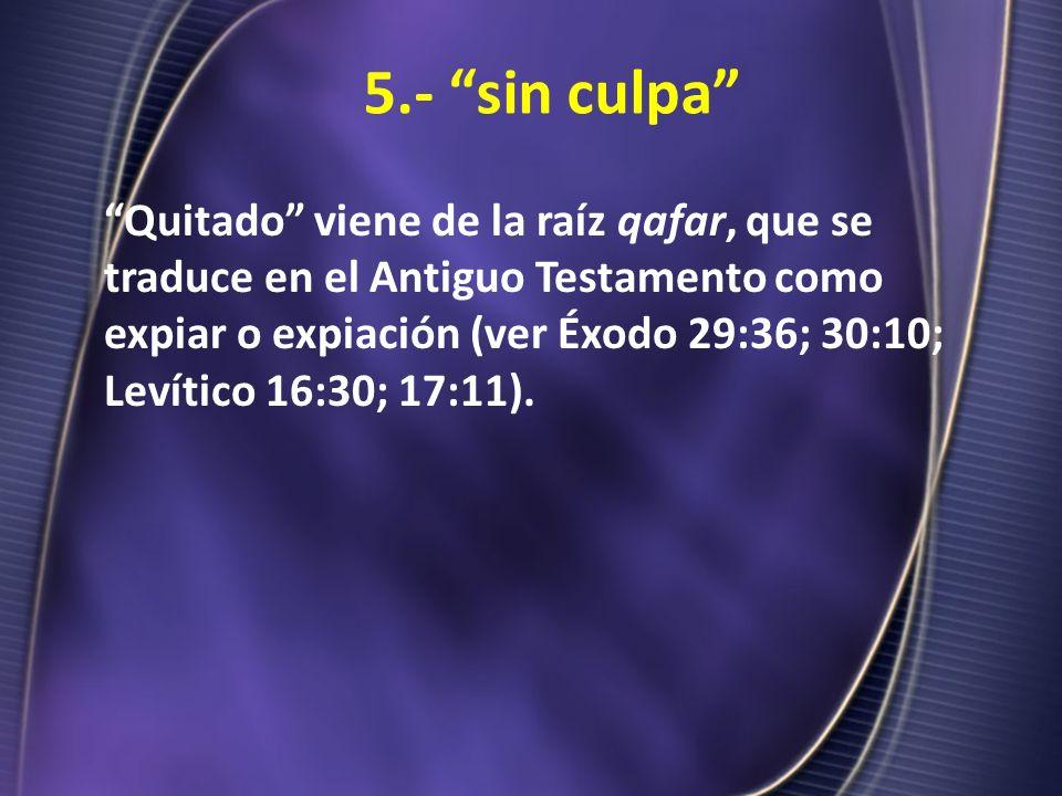 5.- sin culpa