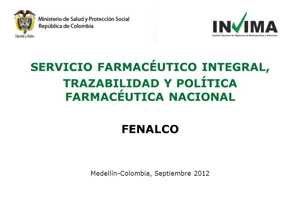 SERVICIO FARMACÉUTICO INTEGRAL,