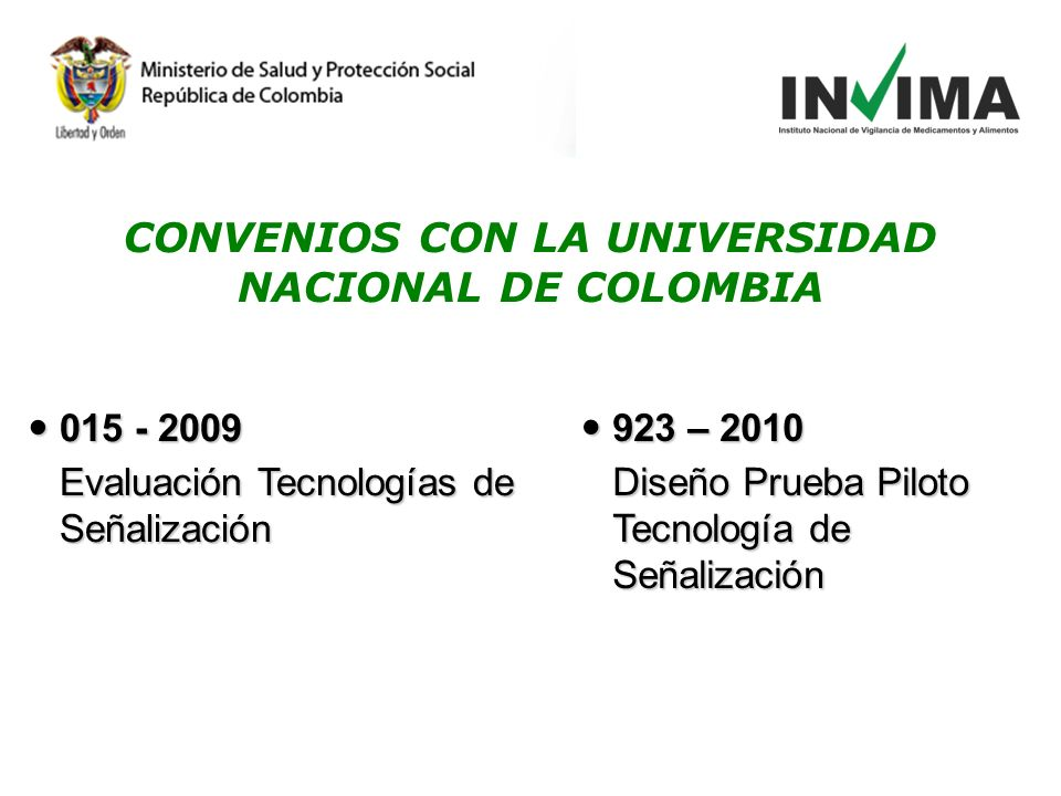 CONVENIOS CON LA UNIVERSIDAD