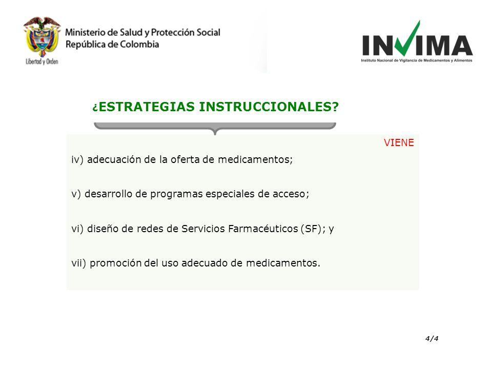 ¿ESTRATEGIAS INSTRUCCIONALES