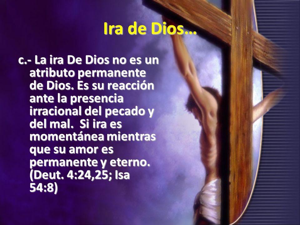 Ira de Dios…
