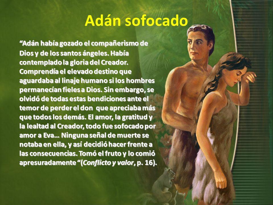 Adán sofocado
