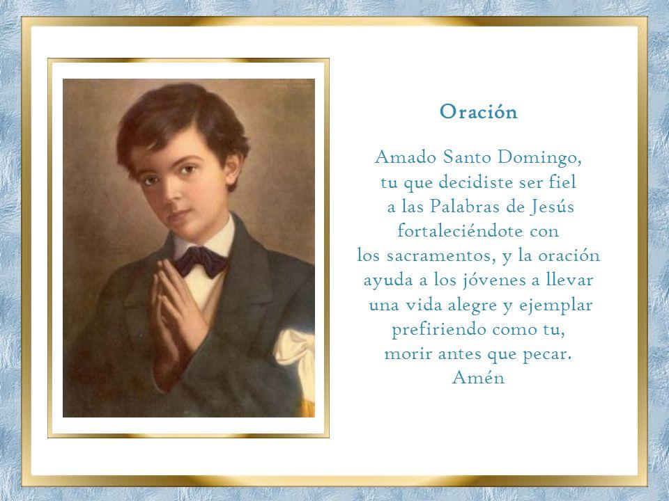 Oración Amado Santo Domingo, tu que decidiste ser fiel