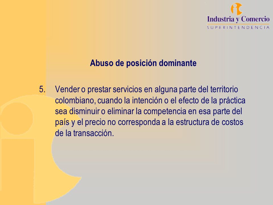 Abuso de posición dominante