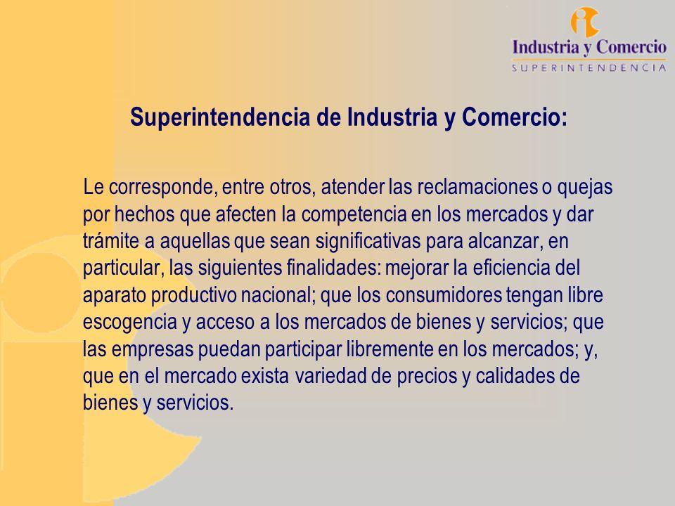 Superintendencia de Industria y Comercio: