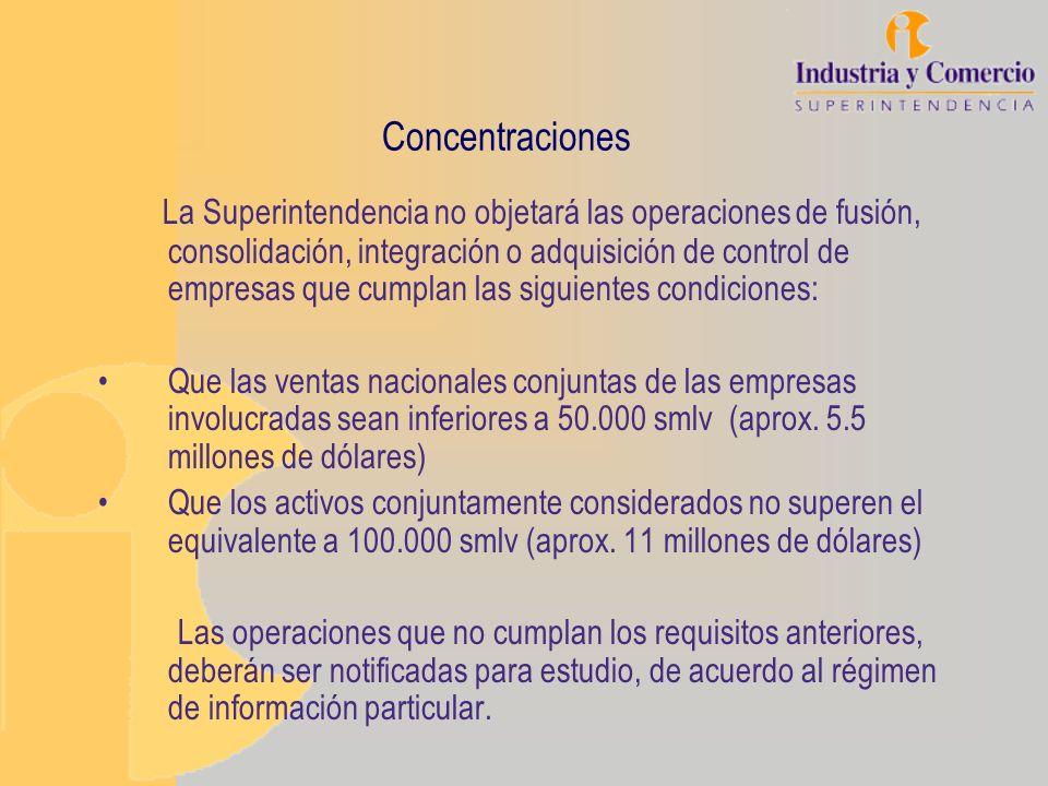 Concentraciones