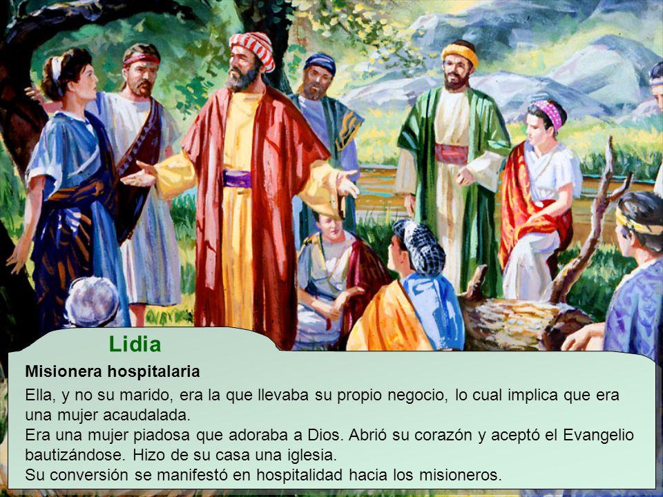 Lidia Misionera hospitalaria