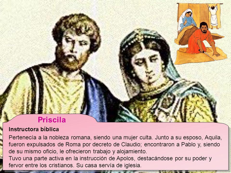 Priscila Instructora bíblica