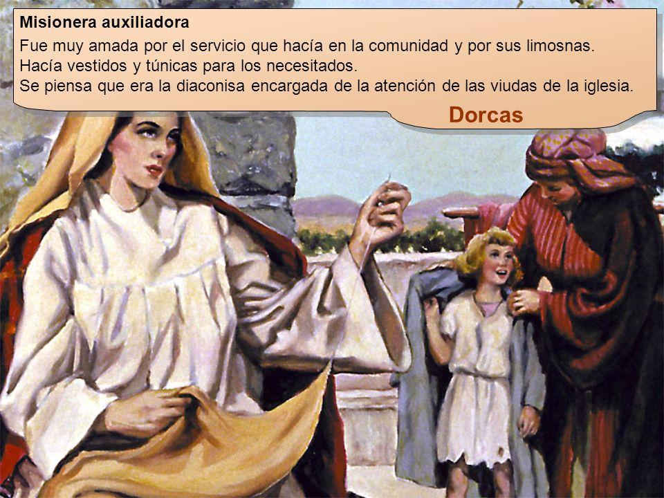 Dorcas Misionera auxiliadora