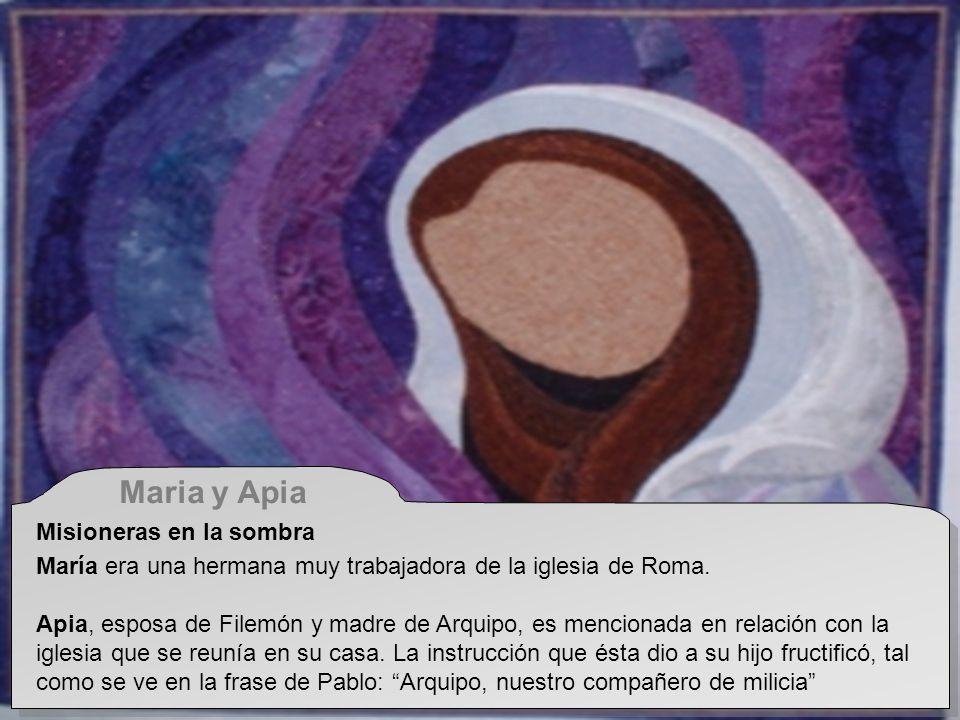 Maria y Apia Misioneras en la sombra