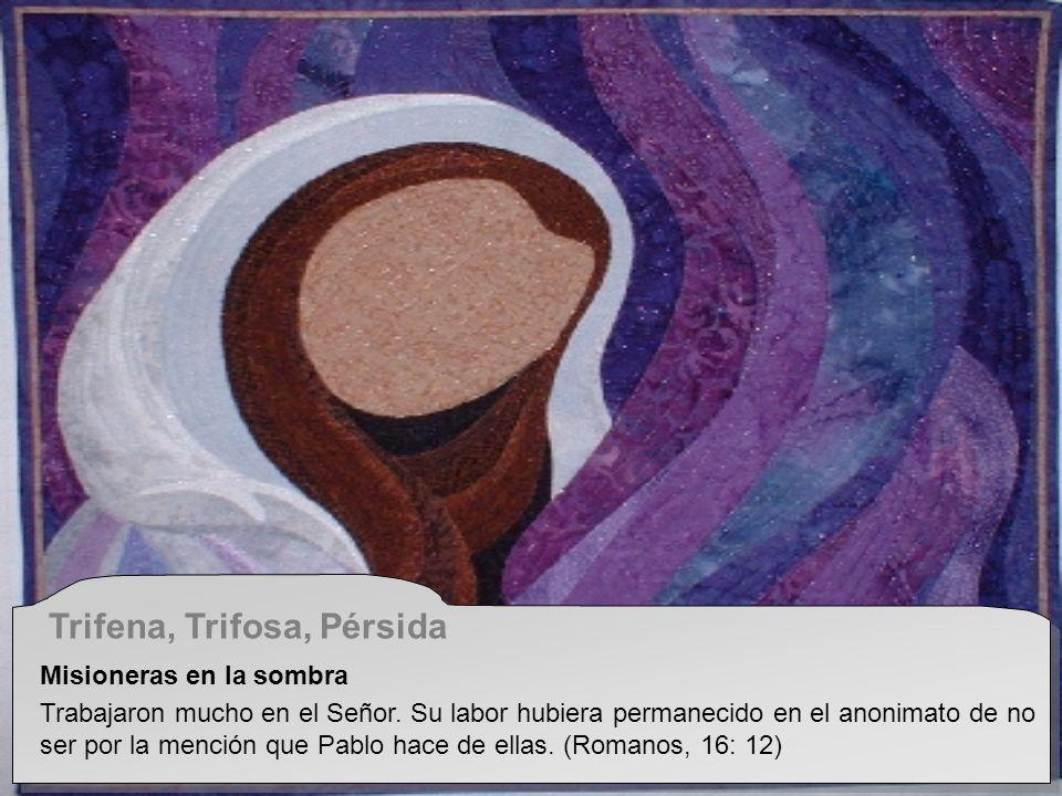 Trifena, Trifosa, Pérsida