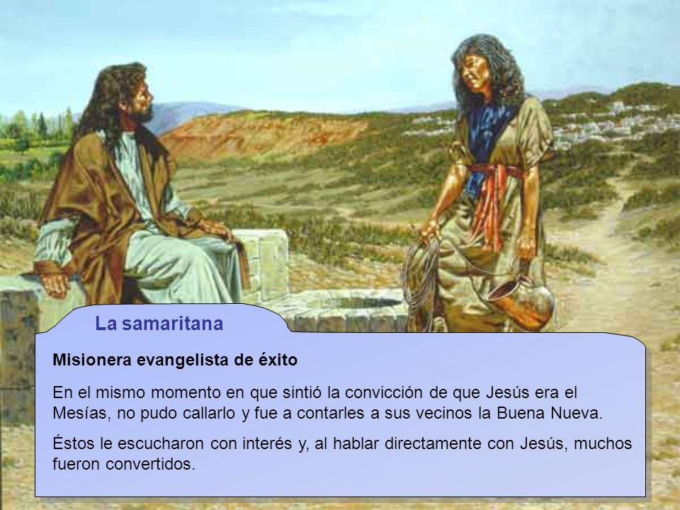 La samaritana Misionera evangelista de éxito