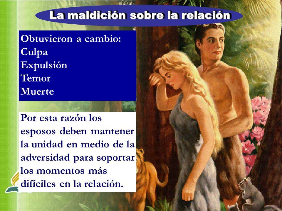 La maldición sobre la relación