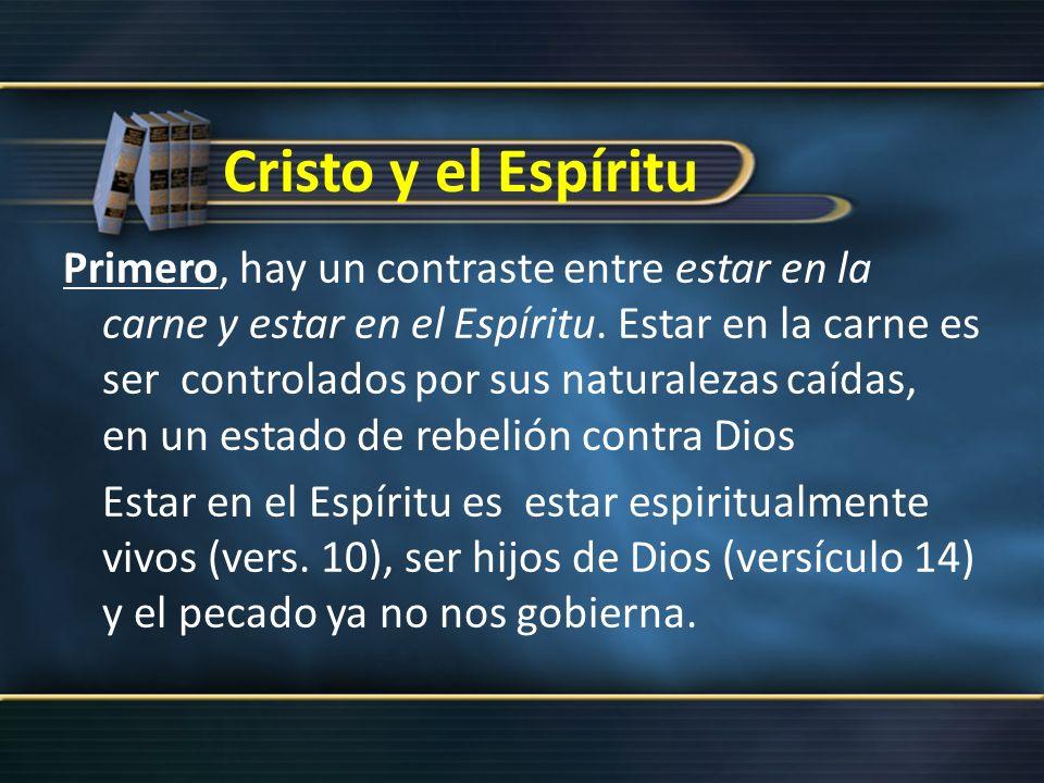 Cristo y el Espíritu