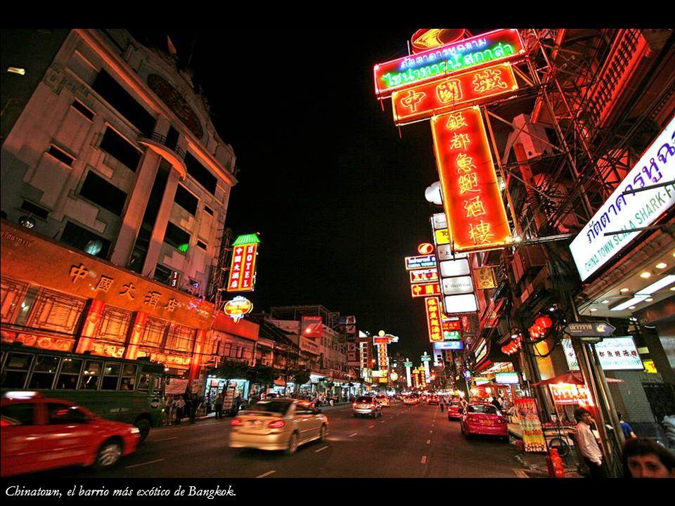 Chinatown, el barrio más exótico de Bangkok.